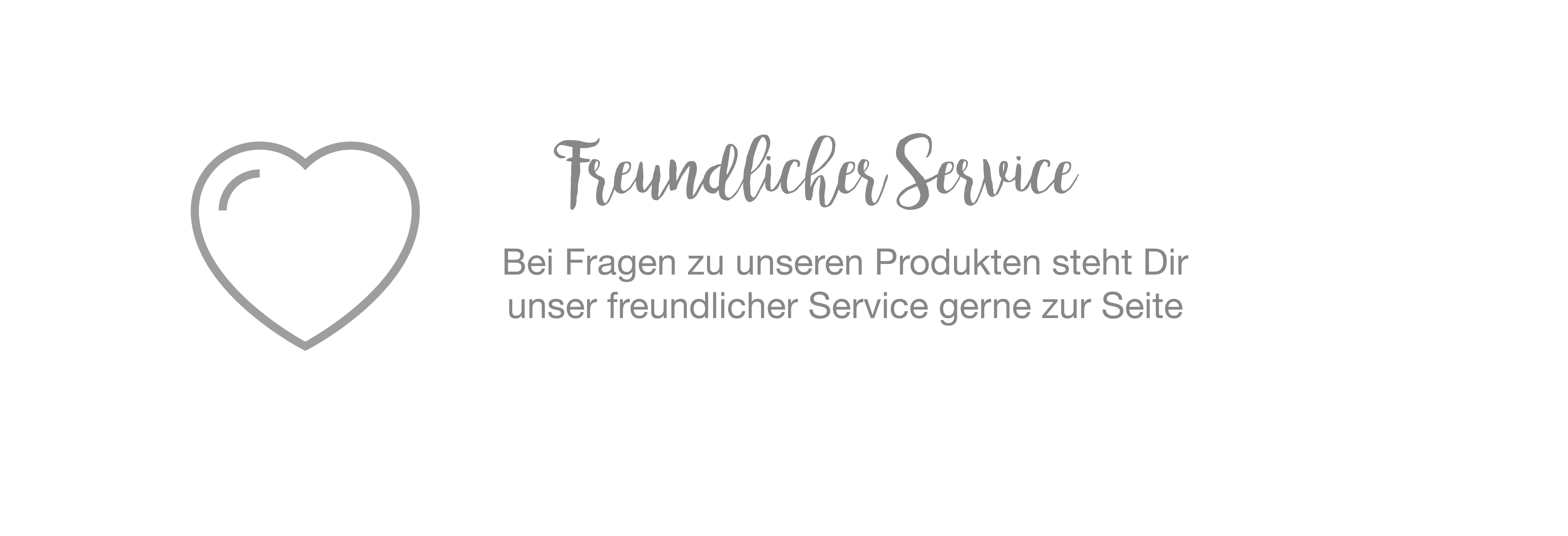 Freundlicher Service